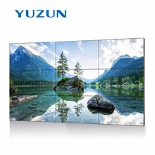 "46"" 55"" inches 3.5mm full hd led lcd splicing screen video wall, tv wall"