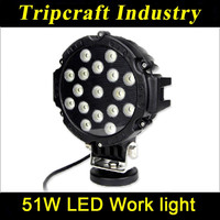 51w round type long service time led light work light