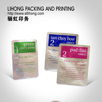 High Temperature Retort Aluminum Foil Packing Bag