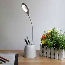 multifunctional brush pot desk lamp brusher holder desk lamp