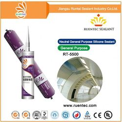 Antifungal/Pollution free food safe silicon sealant/Silicone sealant adhesive