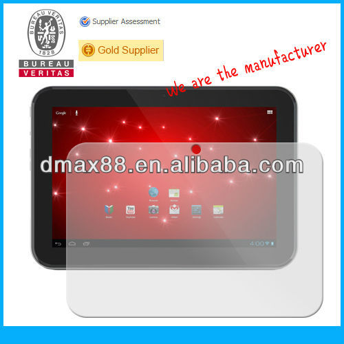 Tablet pc 10.1 inch screen protector for Toshiba AT305 oem/odm