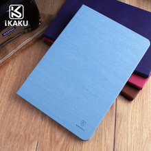 Hot selling leather flip tablet case for ipad air samsung galaxy tab p1000 cover case blue