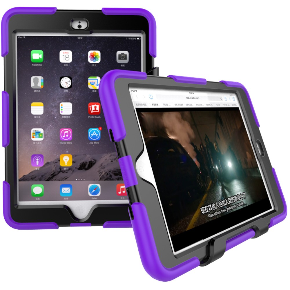 Shockproof Kids Tablet Case Plastic Tablet Cover For iPad Mini 3 Child Proof Case