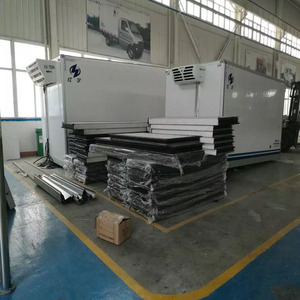 stainless steel or FRP dry box truck body/insulated truck body sandwich panels