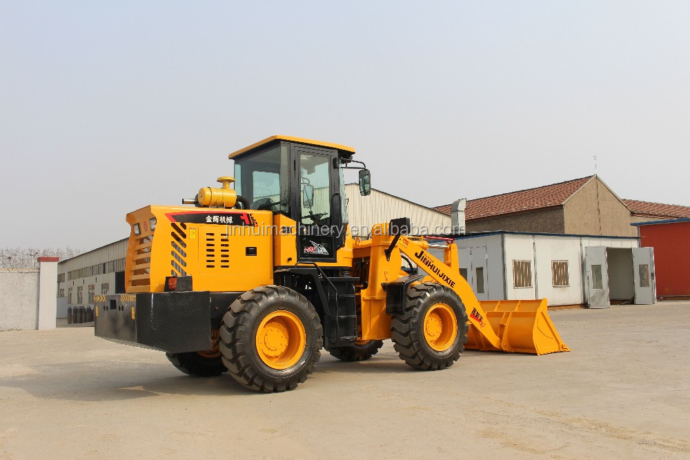 2 ton wheel loaders with loading 2000kg bucket