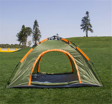 Wholesale fiberglass pole travelling tents outdoor automatic camping tent