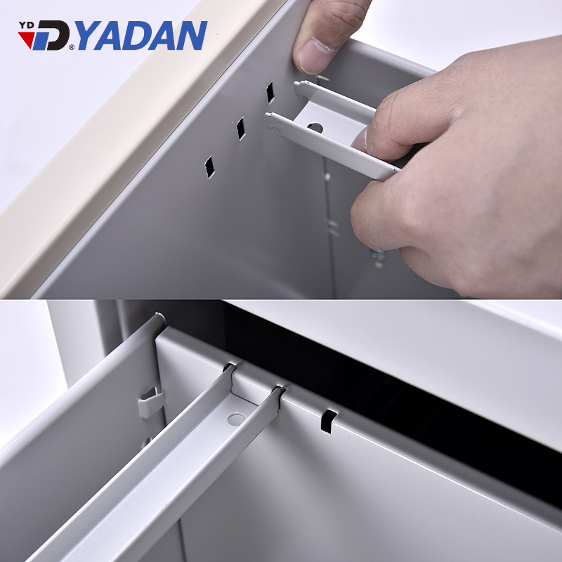 Yadan metal cabinet shelf support 4 drawers vertical filling hanging A4, FC, letter & legal size file