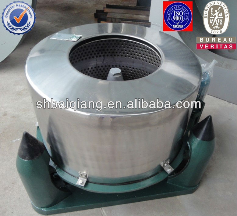 centrifugal hydro extractor for garments/animal dung dewatering machine