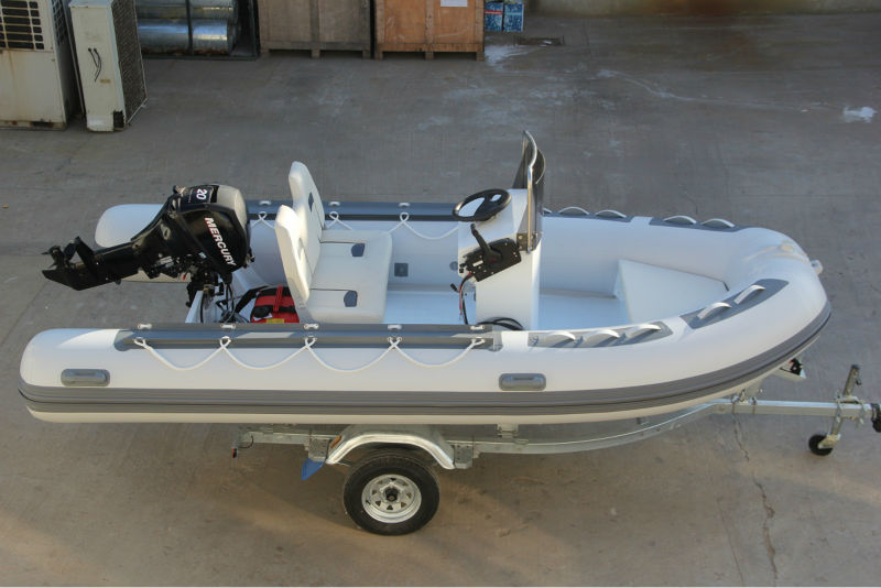 2016 CE Approved Low Price Rubber Tender Sale PVC Boat