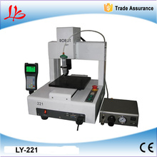 2015 new LY-221 automatic glue dispenser 3 axis compatible for mobile frame glue dispensing works 110V/220V