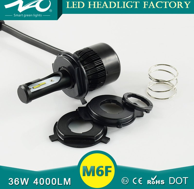 36w 4000lm all in one motorcycle led headlight