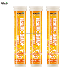 Direct Factory Vitamin C Effervescent Tablet 1000mg OEM Formulations