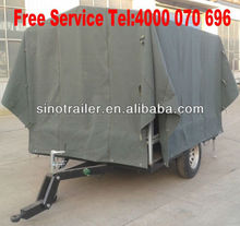 camping car luggage trailer for sale in high quality