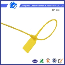 Adjustable Length Yellow Plastic Seals Ce Approved Good Quality with Patent Plastic Seal