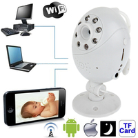 Wifi Point-to-point with Infrared Night Vision Light/ Record / Monitoring Function for Apple iOS and Android 2.3 Version