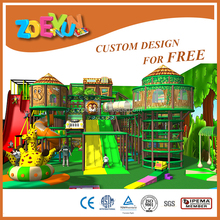 Lastest fun indoor soft playground for kids in market school