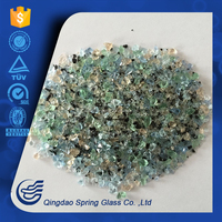 Direct From Factory Crystal White Crushed Glass