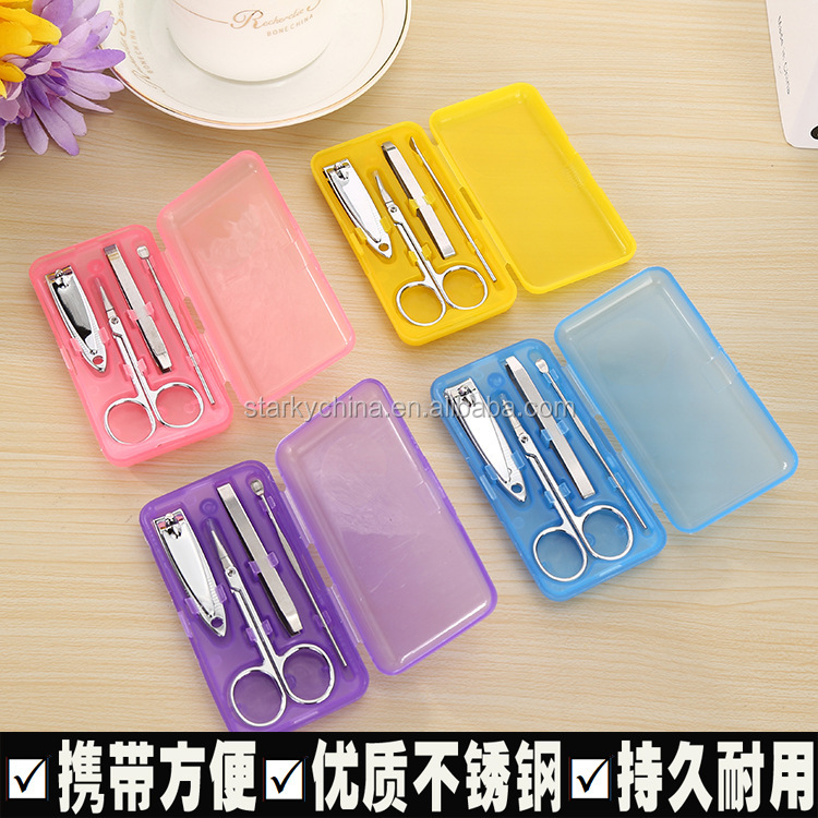 nail care personal manicure pedicure set/ travelgrooming kit tools ,manicure kit