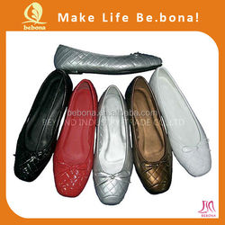None Lining Material and Micro fiber Insole Material Ballet Shoe Factory