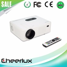 New Full HD LED Projector With Native 1280*800 Resolution,With 2HDMI+2USB+AV+VGA+TV