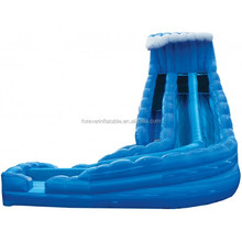 Excellent monster wave inflatable water slide