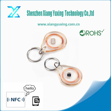 RFID abs keyfob transparent key fob