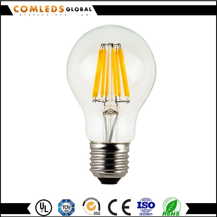 light tube 2 or 4 pin cfl replacement led filament bulb 8w