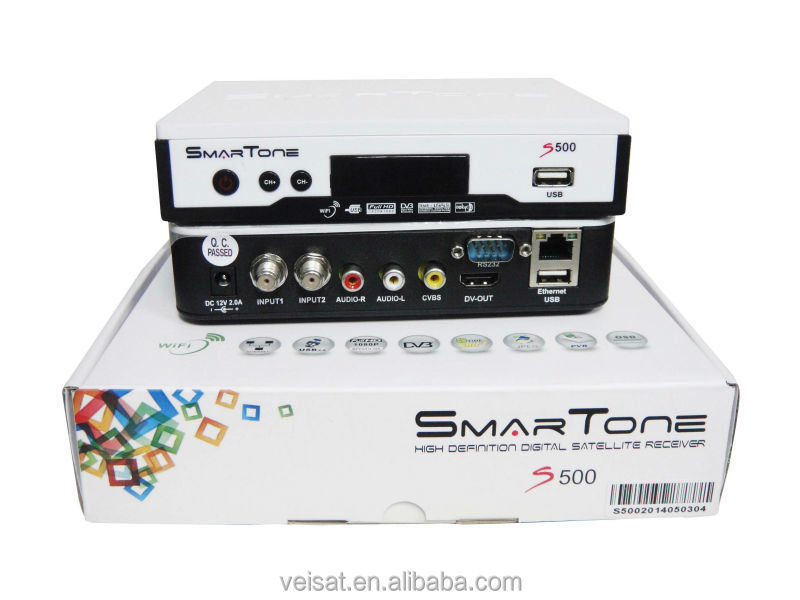 2015 hd satellite receiver smartone s500 support free iks+sks