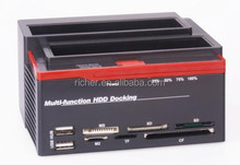 Hot Popular all-in-1 dual hdd docking station