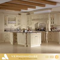 Luxury Top Quality Solid Wooden Kitchen Cabinet