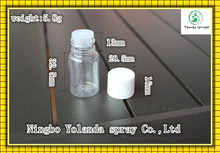 small PET bottles for perfume
