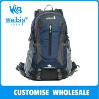 40L Waterproof Camping Backpack with rain cover