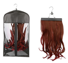 New Design hair packaging hanger bags for hair extensions