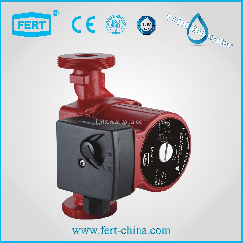 FT32-7 circulation pump hot water pump CE TUV for Europe market