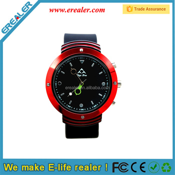 BWQ04 Red quartz Bluetooth wrist smart watch