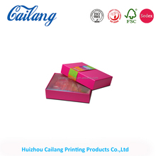 a4 size paper box gift box packaging box with lid template