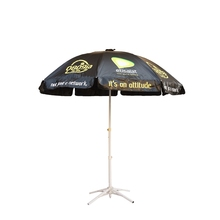 Silk screen printing sun garden parasol umbrella