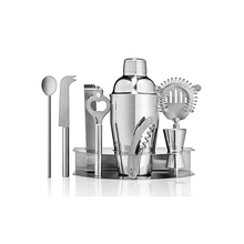 Professionele 10-piece Bar Tool Set Thuis Barman Cocktail Shaker Set
