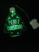 2015 product new acrylic led panel light with christmas tree/star shaped could be wall hanging