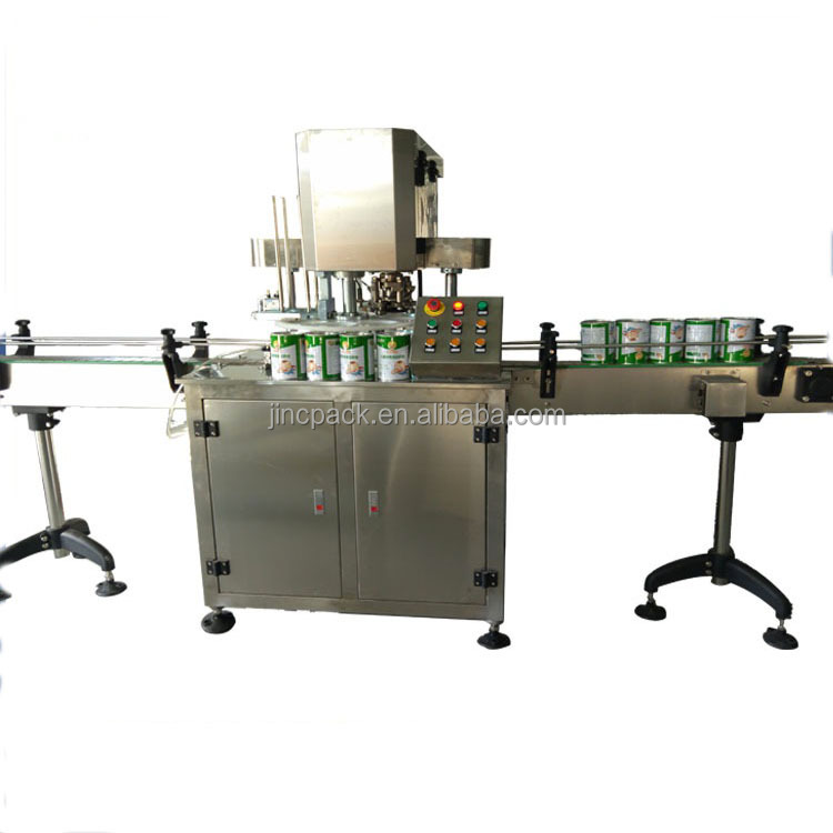 Automatic Food pet tin can capper can sealer