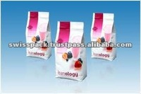 2 Side Gusset Bag for Tea Packaging