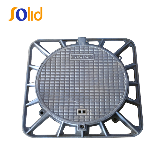 High quality cast iron Sewer Cover Manhole Cover and Frame Mould DN600
