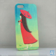 Hard Protective Back Cover Case with 3D Image for iPhone 5 P-IPH5HC083