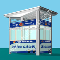 Good Price Fiberglass moveable house outdoor security Guard house