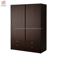 E-1 original design china factory wardrobe wooden bedroom almirah