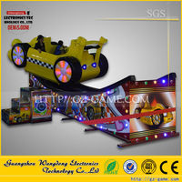 2015 WDJJ-002 Thrilling and excitement flying car indoor amusement theme park ride for sale