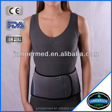 adjustable neoprene training waist back support abdominal spinal belt woman corset close