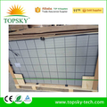 2017 new BYD double-glass 60cells poly solar panel 2mm thin frameless panel solar 260W for solar system PID free long life