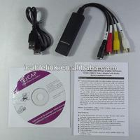easy cap USB 2.0 Video Capture grabber adapter w/ audio support Windows Xp,windows7/Vista 64(2860+GM7113+9752)